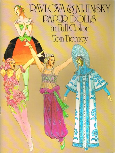 Image for Pavlova & Nijinsky Paper Dolls in Full Color