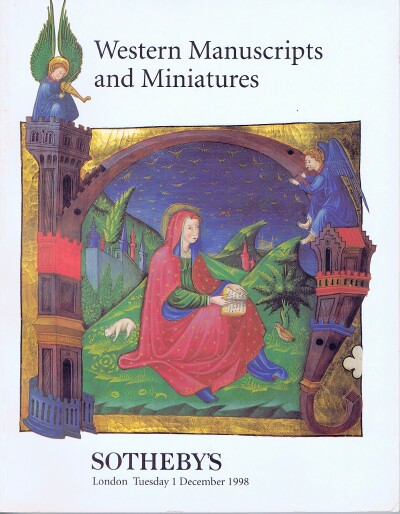 Image for Western Manuscripts and Miniatures (December 1, 1998)