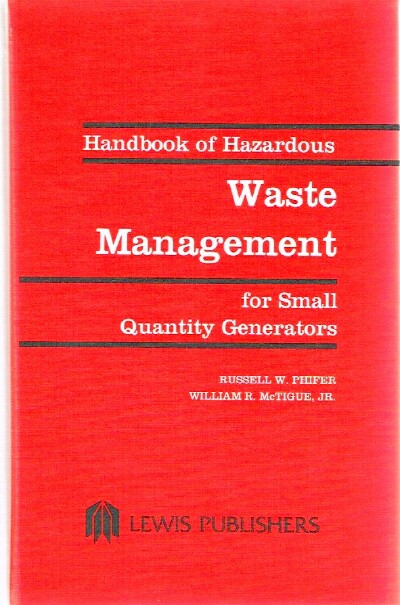 Image for Handbook of Hazardous Waste Management for Small Quantity Generators