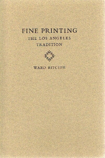 Image for Fine Printing: The Los Angeles Tradition