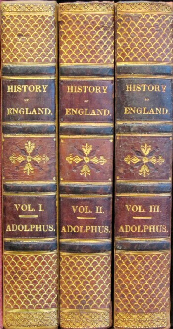 Image for The History of England, from the Accession of King George the Third, to the Conclusion of Peace in the Year 1783 (Three Volumes, Complete)