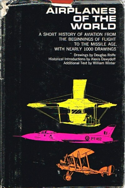 Image for Airplanes of the World 1490-1962