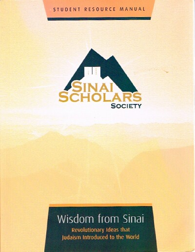 Image for Wisdom from Sinai