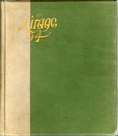 Image for The Mirage The Junior Annual of DePauw University 1894
