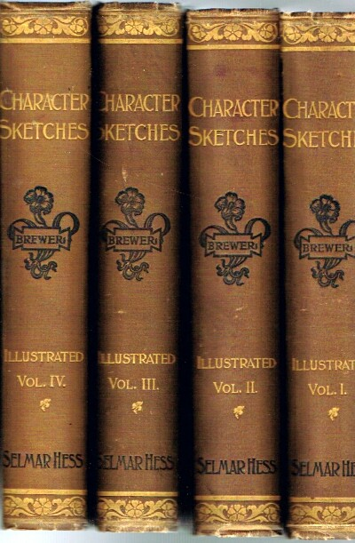 Image for Character Sketches of Romance, Fiction, and the Drama (Four Volumes, Complete)