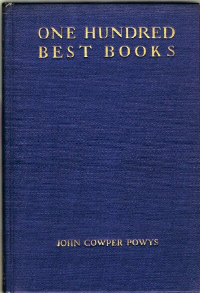 Image for One Hundred Best Books:  With Commentary and an Essay On Books and Reading