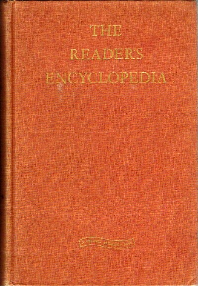 Image for THE READER'S ENCYCLOPEDIA An Encyclopedia of World Literature and the Arts