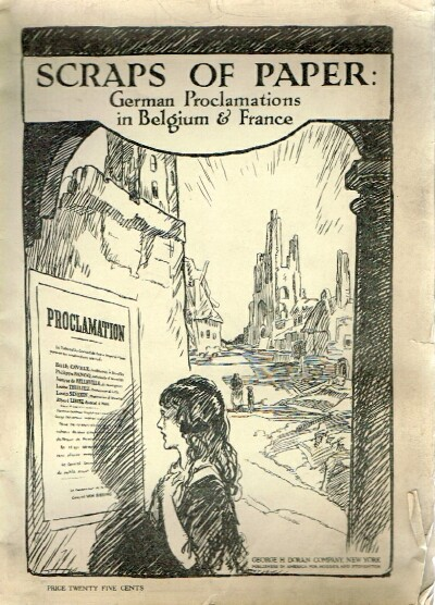 Image for Scraps of Paper: German Proclamations in Belgium & France Forward by Ian Malcom