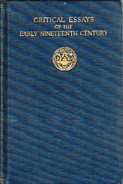 Image for Critical Essays of the Nineteenth Century