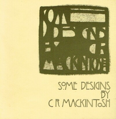 Image for Some Designs by C R Mackintosh