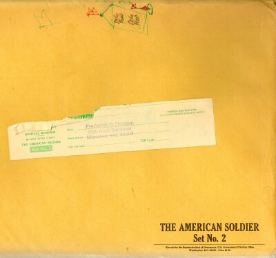Image for The American Soldier: Set Number 2