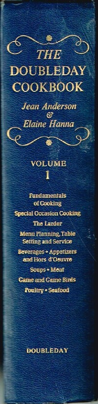 Image for The Doubleday Cookbook Volume I: Complete Contemporary Cooking