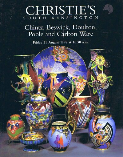 Image for Chintz, Beswick, Doulton, Poole and Carlton Ware (21 Aug 1998)