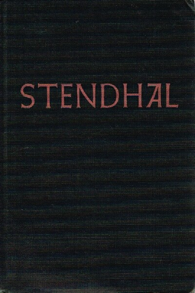 Image for Stendhal