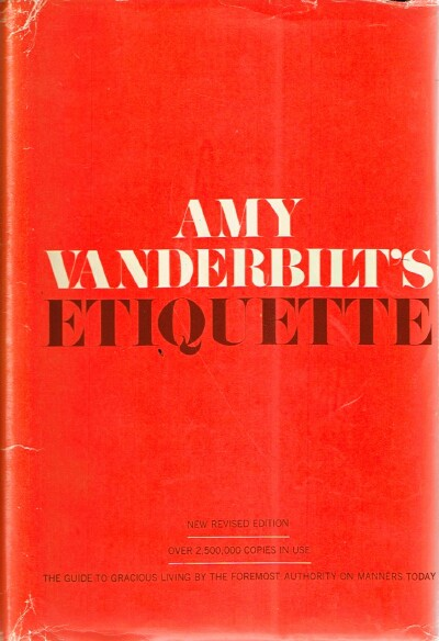 Image for Amy Vanderbilt's Etiquette
