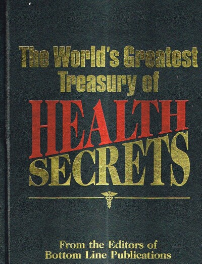 Image for The World's Greatest Treasury of Health Secrets