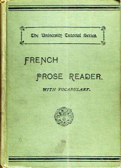 Image for A French Prose Reader