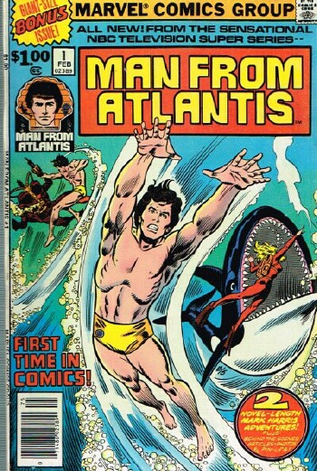 "Image for Man from Atlantis #1 (""Birthright"" and ""There are Monsters in the Sea"") - Vol. 1, No. 1, February 1978"