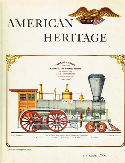 Image for American Heritage: The Magazine of History (December 1957 - Volume IX, Number 1)