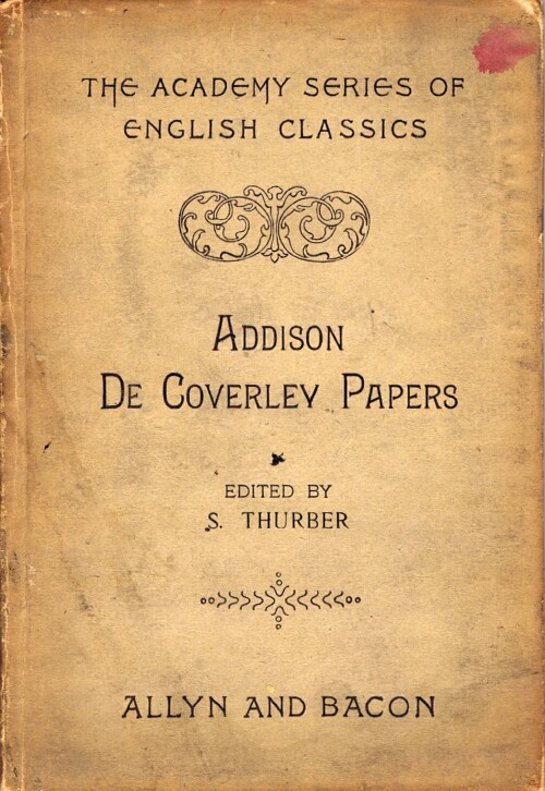 Image for De Coverley Papers