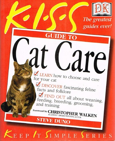 Image for KISS Guide to Cat Care