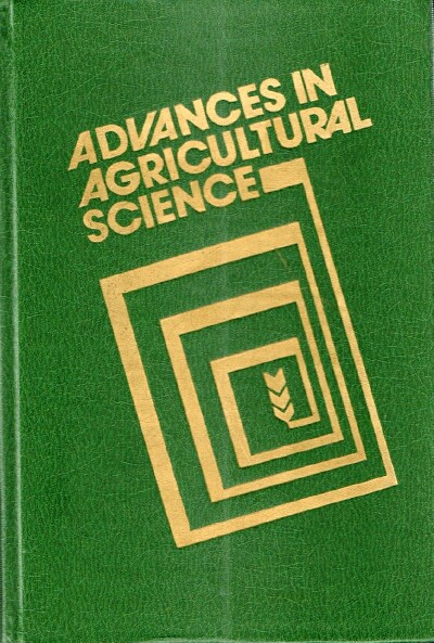 Image for Advances in Agricultural Science