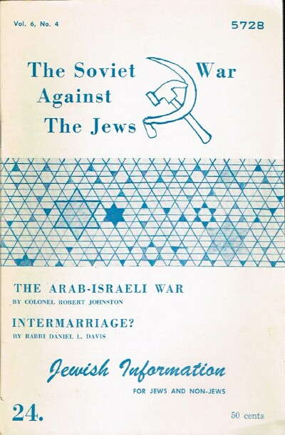 Image for Jewish Information Vol. 6, No. 4