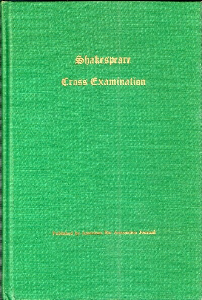 Image for Shakespeare Cross-Examination