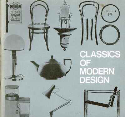 Image for Classics of Modern Design
