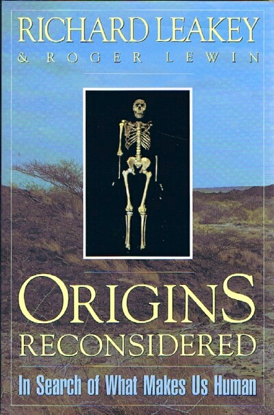 Image for Origins Reconsidered: In Search of What Makes Us Human