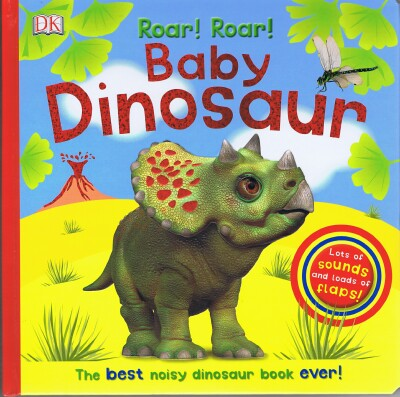 Image for Roar! Roar! Baby Dinosaur: The Best Noisy Dinosaur Book Ever!