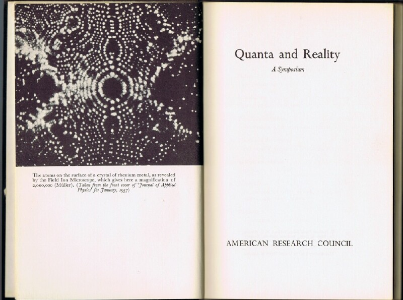 Image for Quanta and Reality: A Symposium