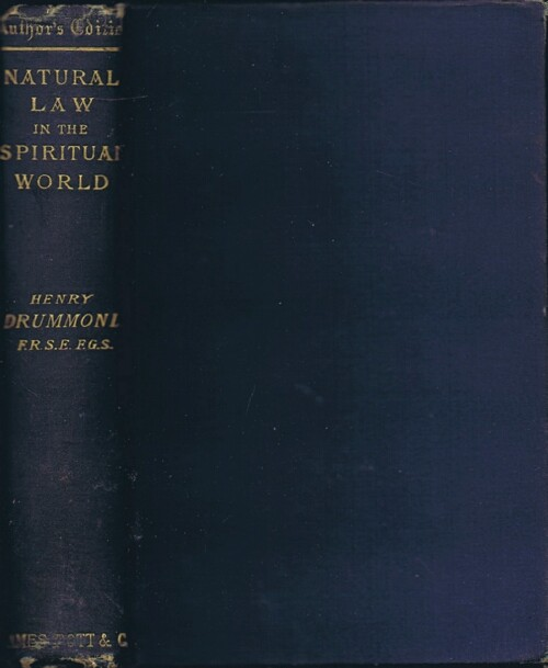 Image for Natural Law in the Spiritual World