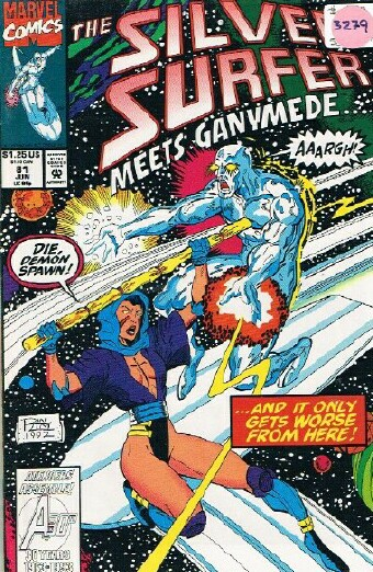 Image for THE SILVER SURFER MEETS GANYMEDE