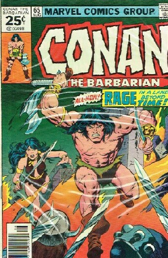 Image for CONAN THE BARBARIAN Fiends of the Feathered Serpent