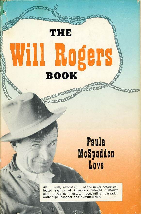 Image for THE WILL ROGERS BOOK