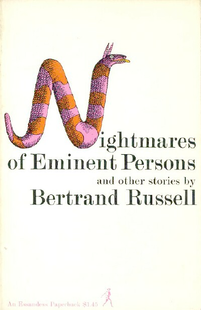 Image for NIGHTMARES OF EMINENT PERSONS AND OTHER STORIES