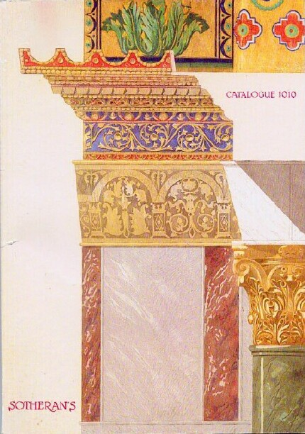 Image for Catalogue 1010: Fine Books on Continental Art and Architecture: 1990