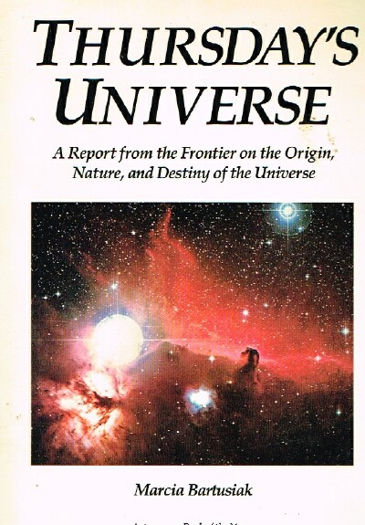Image for Thursday's Universe A Report from the Frontier on the Origin, Nature, and Destiny of the Universe