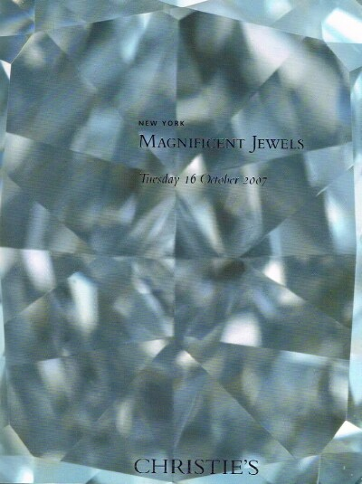 Image for MAGNIFICENT JEWELS (Oct. 16, 2007)