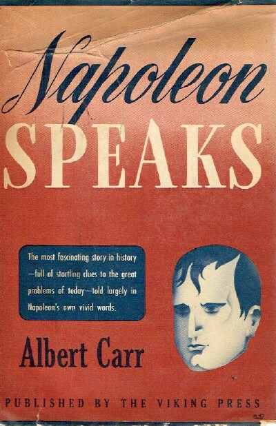 Image for Napoleon Speaks