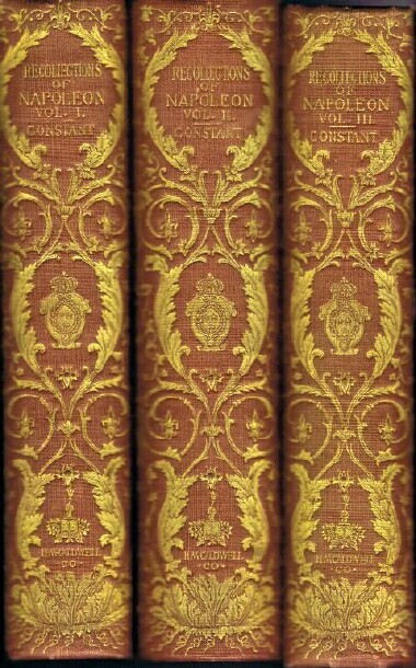 Image for RECOLLECTIONS OF THE PRIVATE LIFE OF NAPOLEON Three Volumes
