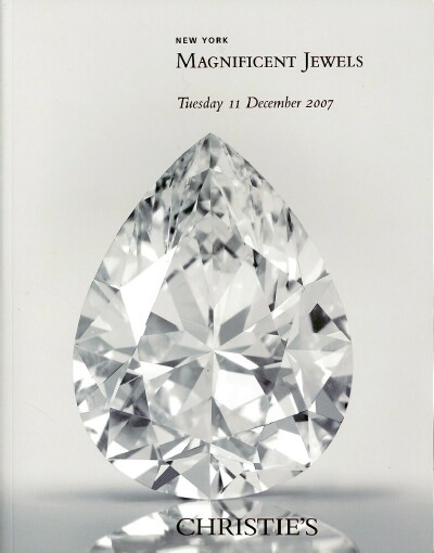Image for Magnificent Jewels (New York, December 11, 2007)
