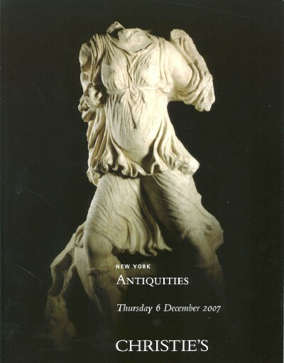 Image for Antiquities (New York, December 6, 2007)