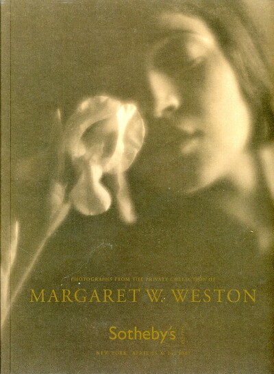 Image for PHOTOGRAPHS FROM THE PRIVATE COLLECTION OF MARGARET W. WESTON (April 25 & 26, 2007)