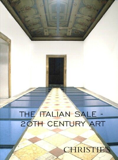 Image for THE ITALIAN SALE: 20TH CENTURY ART (London, October 15, 2007)