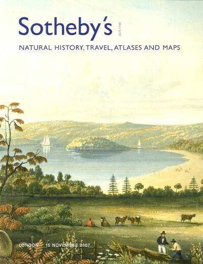 Image for Natural History, Travel, Atlases and Maps (London, November 15, 2007)