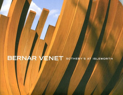 Image for BERNAR VENET: A PRIVATE SALE OFFERING (2008)