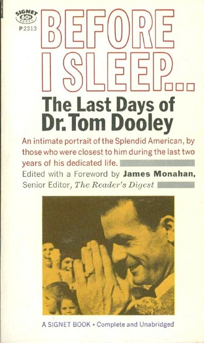 Image for BEFORE I SLEEP: THE LAST DAYS OF DR. TOM DOOLEY