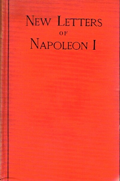 Image for New Letters of Napoleon I